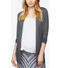bumpstart maternity open-front draped cardigan