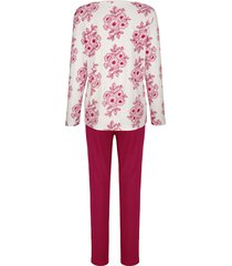 pyjamas harmony marinblå::ljung::benvit