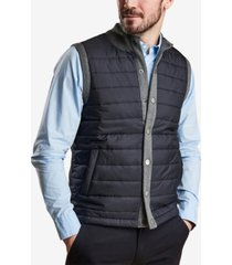 barbour men's essential quilted gilet