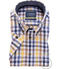 korte mouwen overhemd ledub modern fit