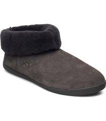 hygge lux slippers tofflor grå kari traa