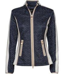 jacket wadding kviltad jacka blå betty barclay