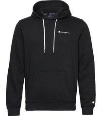 hooded sweatshirt hoodie trui blauw champion
