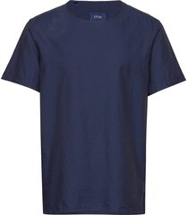 eton t-shirt t-shirts short-sleeved blauw eton