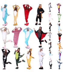 *hot unisex adult onesies dress sleepwear cosplay costume pajamas kigurumi anime