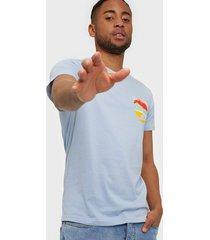 solid t-shirt - kayne ss t-shirts & linnen blue