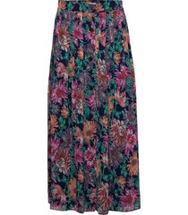 posana long skirt lång kjol multi/mönstrad postyr