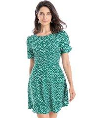 enterito tipo vestido verde nicopoly
