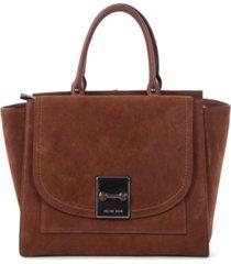 celine dion collection suede baroque satchel
