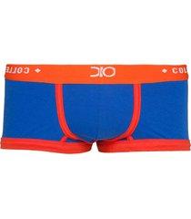 cueca mini boxer tendence dionisio collection azul - kanui