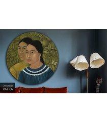 two women - frida kahlo - obraz lub naklejka