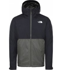 the north face jas men millerton insulated jacket new taupe green/tnf black-l