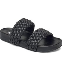 laylow shoes summer shoes flat sandals svart dune london