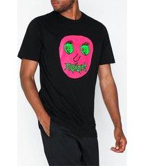 diesel t just b27 t shirt t-shirts & linnen svart