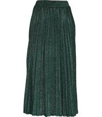 marion skirt knälång kjol grön guess jeans
