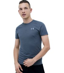 camiseta negro under armour streaker 2.0 shortsleeve