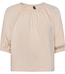 yasshani 2/4 tee - icon s. t-shirts & tops short-sleeved vit yas