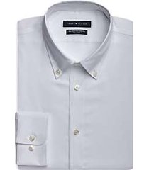 tommy hilfiger white slim fit dress shirt