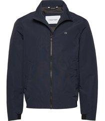 casual nylon blouson jacket tunn jacka blå calvin klein