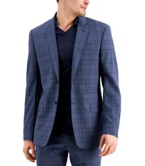 ax armani exchange men's slim-fit suit jacket