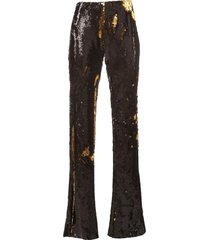 marquesalmeida pants sequin bootcut
