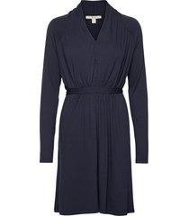dresses knitted kort klänning blå esprit casual