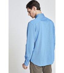 camicia in cotone a righe