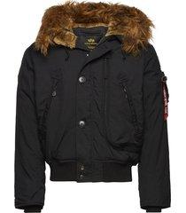 polar jacket sv fodrad jacka svart alpha industries
