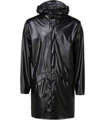 blazer rains long jacket