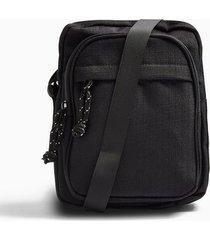 mens black pouch cross body bag