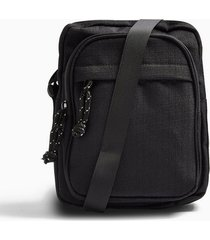 mens black pouch cross body bag