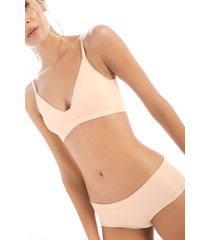 bra top sin copa en lycra1490p01l perla  options intimate