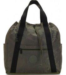 mochila art backpack m verde kipling