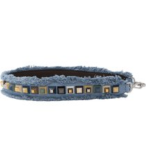 studded fringe strap you purse strap