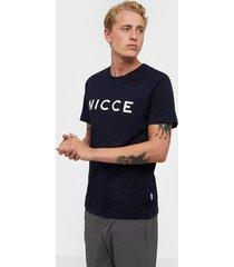 nicce original logo t-shirt t-shirts & linnen navy