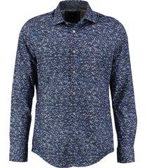 vanguard blauw comfort stretch overhemd