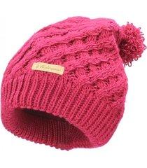 gorro beanies lana rojo weinbrenner