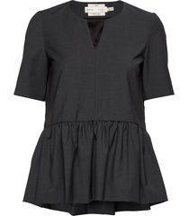 iw50 40 carolyniw top blouses short-sleeved grijs inwear