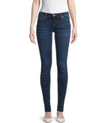 true religion women's stella skinny jeans - dream catcher - size 28 (4-6)
