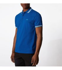boss men's paddy cotton pique polo shirt
