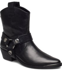 gallow bootie shoes boots ankle boots ankle boots with heel svart steve madden