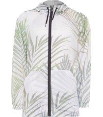 jaqueta masculina rain coat palm leaf - verde