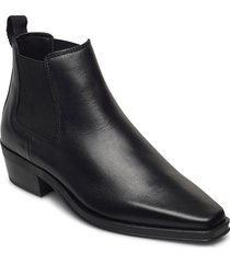alcina top shoes boots ankle boots ankle boot - flat svart clarks