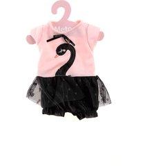 roupa de boneca metoo - macacão cisne negro com cabide