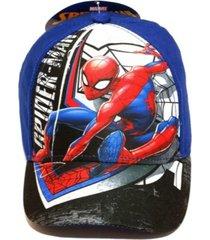 gorra azul marvel spiderman funny store