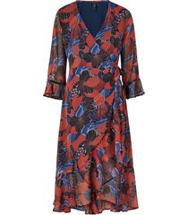 omlottklänning yasdaphne ls wrap dress
