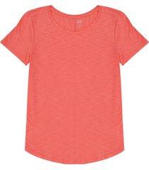 camiseta coral gap