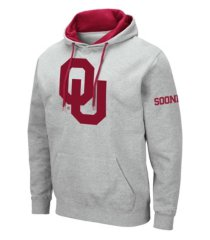 colosseum men's oklahoma sooners big logo hoodie