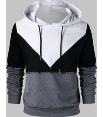 raglan sleeve drawstring hoodie