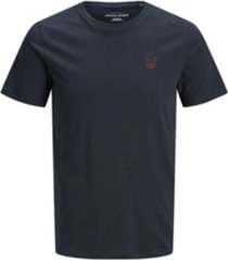 jack & jones men's logo t-shirt